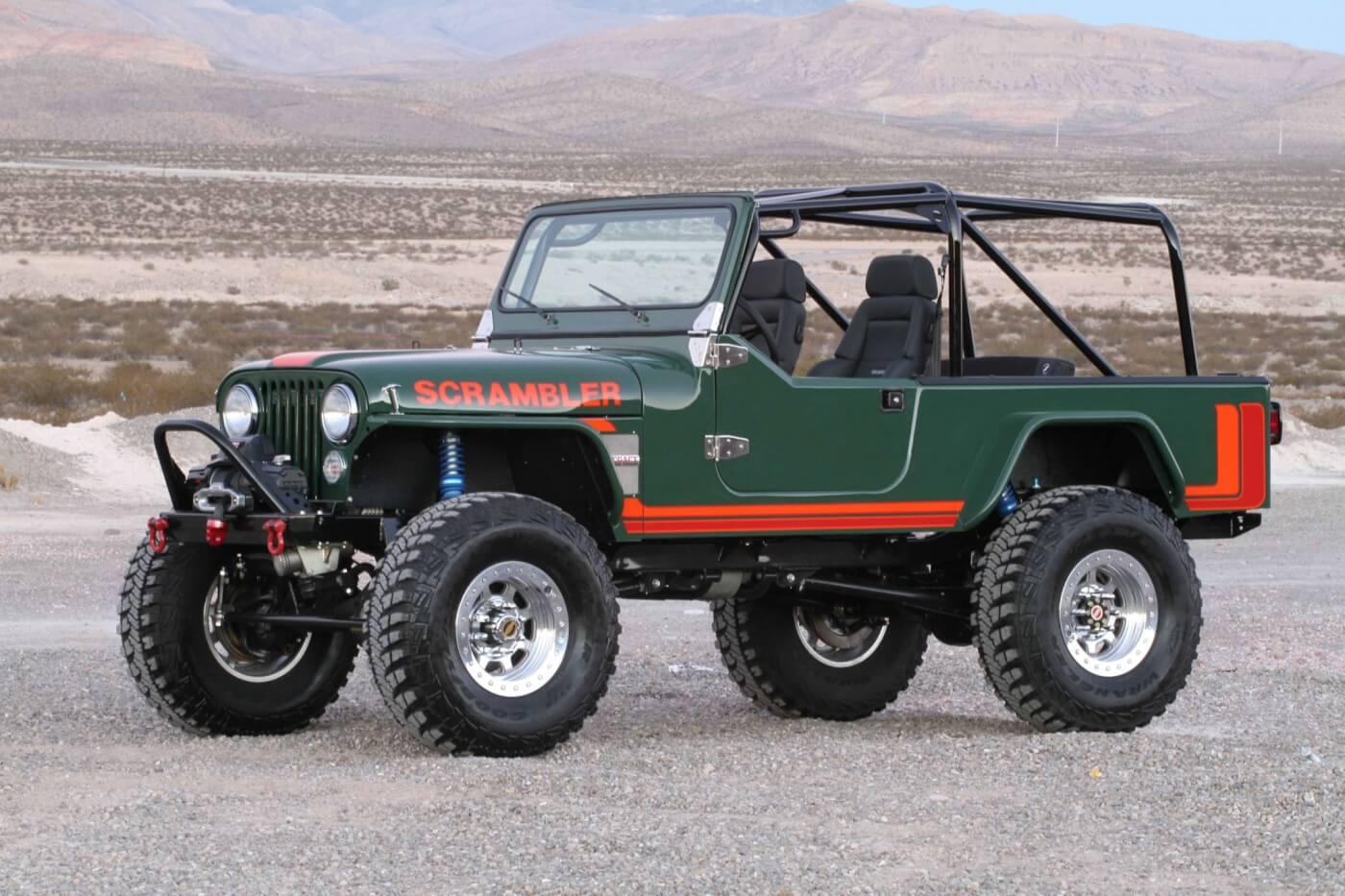 """J10 Jeep For Sale DIESEL JEEP – An """"All-New"""" CJ8 Scrambler"""