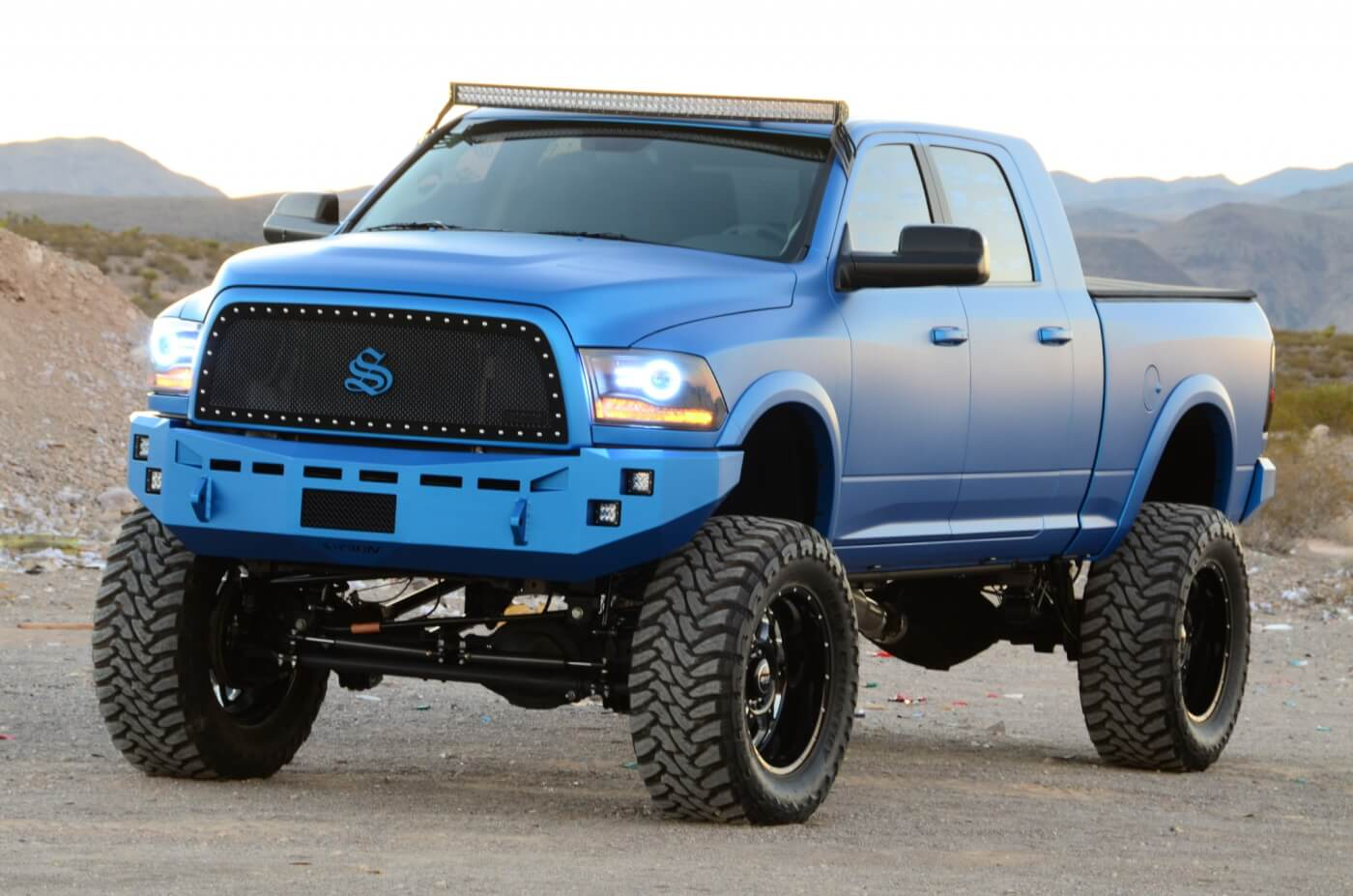 This 2014 Ram Wasn T Built To Blend In With The Crowd