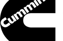 Cummins black logo small