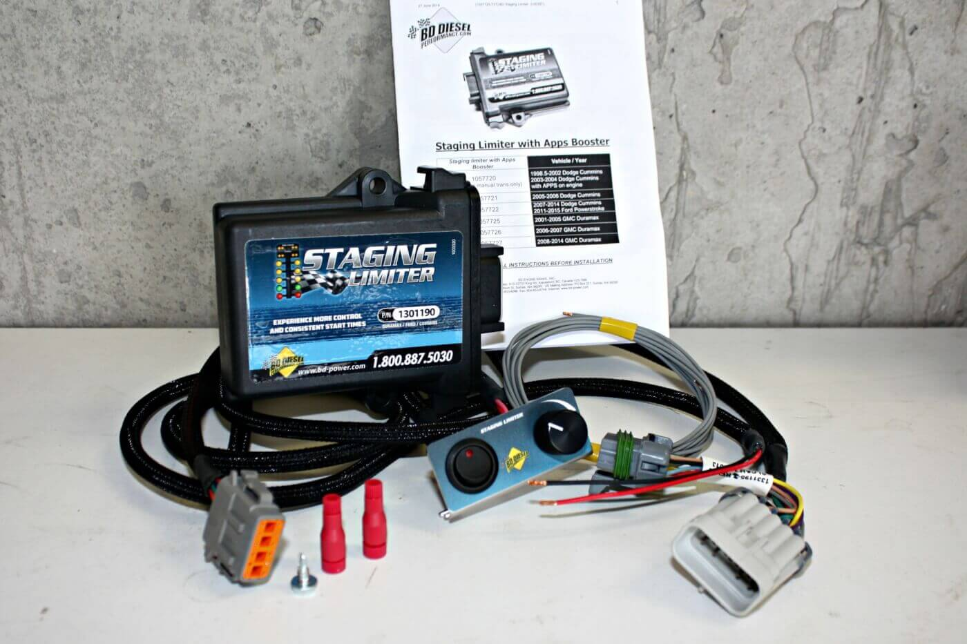 Launch Control Bd Staging Limiter Trailer Light Wiring Issue Ford Powerstroke Diesel Forum