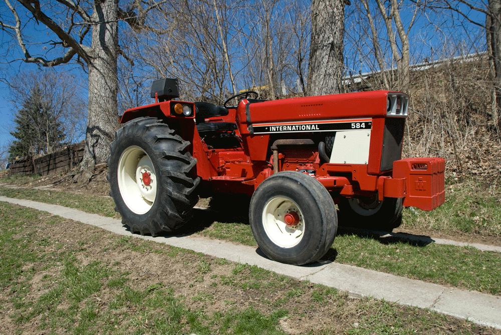 1978 ih 584 utility rh dieselworldmag com Portable Generator Wiring Diagram 584 International Tractor Diagrams
