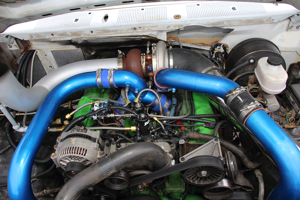 A Surprisingly Simple 700 HP OBS Ford