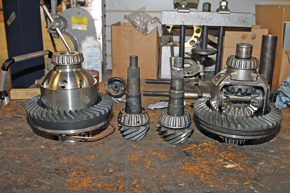 chevy front differential rebuild