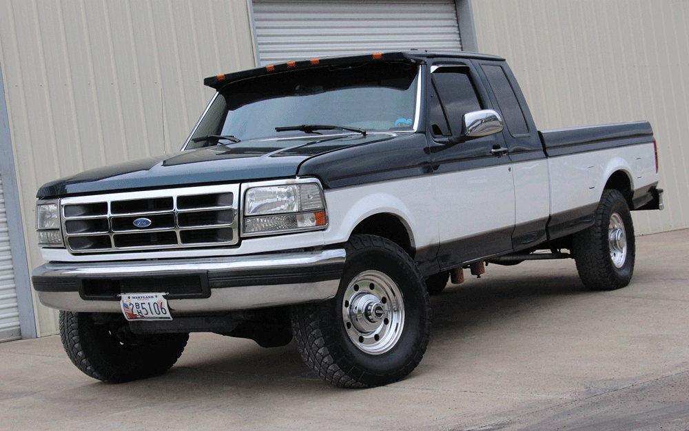 Paw Paw Gone: 600-HP Ford F-250