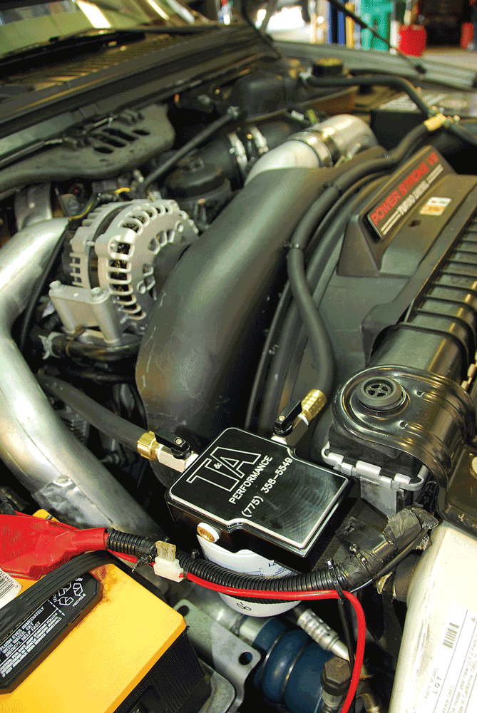 power stroke coolant filter: a solution to oil cooler/egr issues?