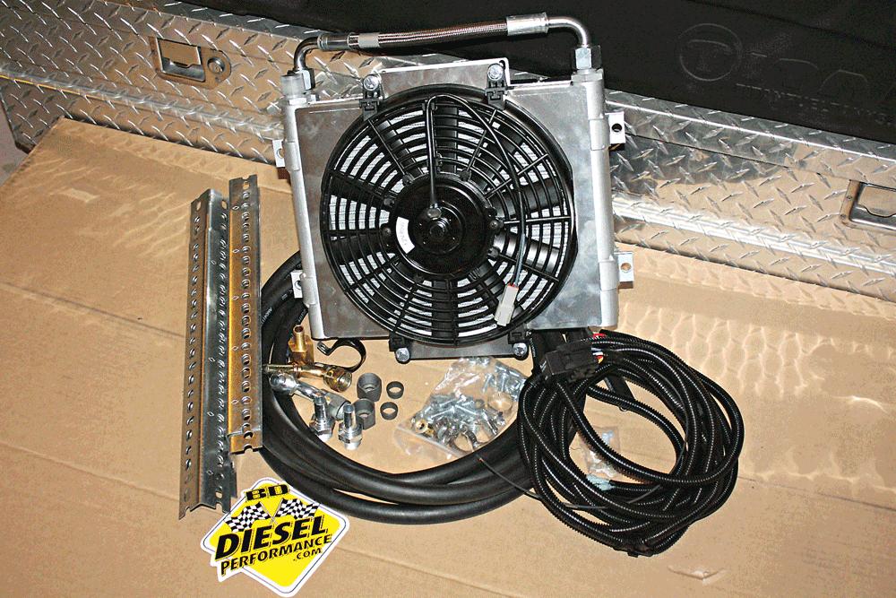 2007 dodge ram transmission cooler