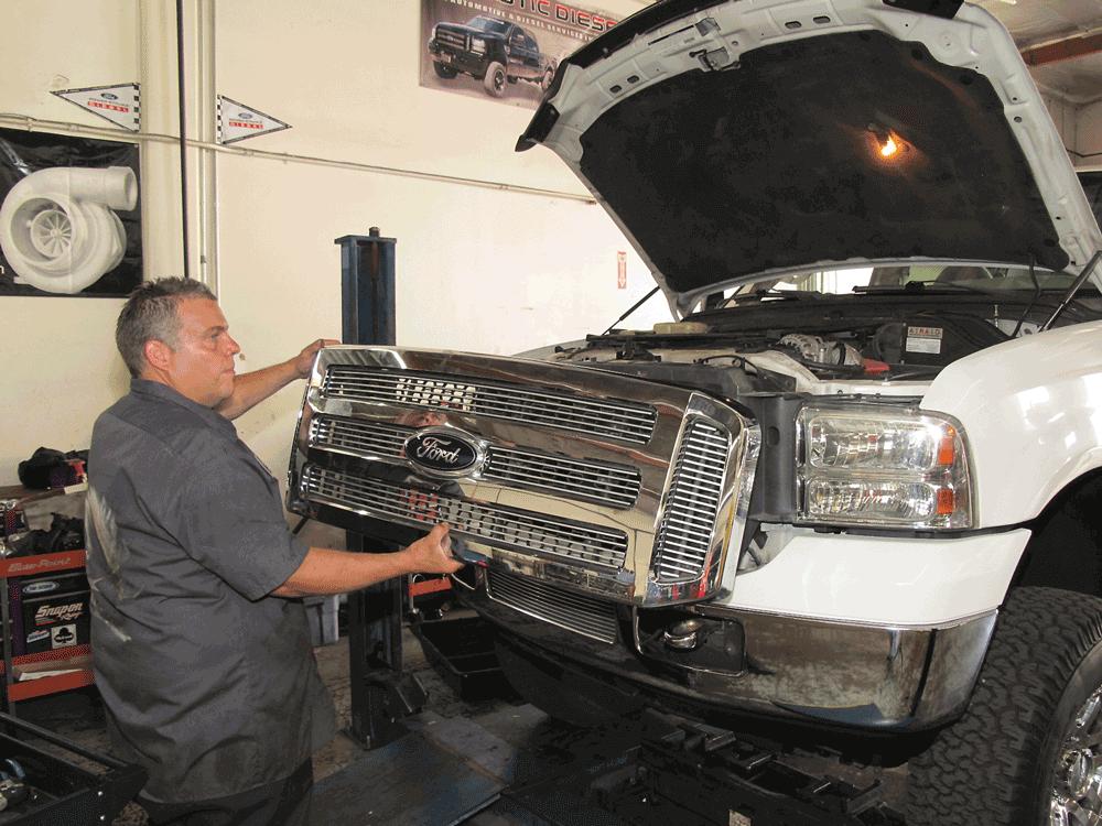 2002 ford f250 transmission cooler upgrade