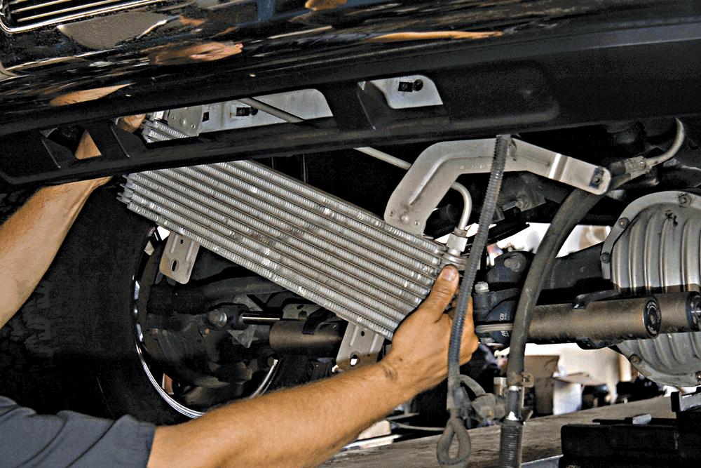 Ford 7.3L Trans Cooler Upgrade