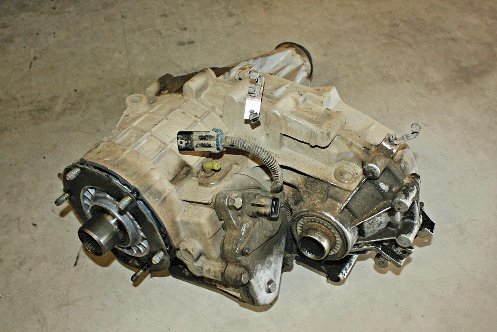 2001 chevrolet silverado transfer case fluid