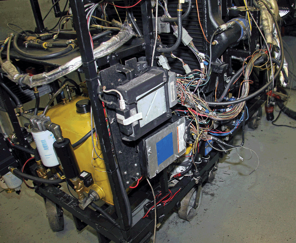 How To Build An 850 Horsepower 73l 99 7 3 Powerstroke Engine Diagram 2 They Have All The Electronics Required Run Right There On Dyno Along With Additional Sensors Monitor Every Aspect Of