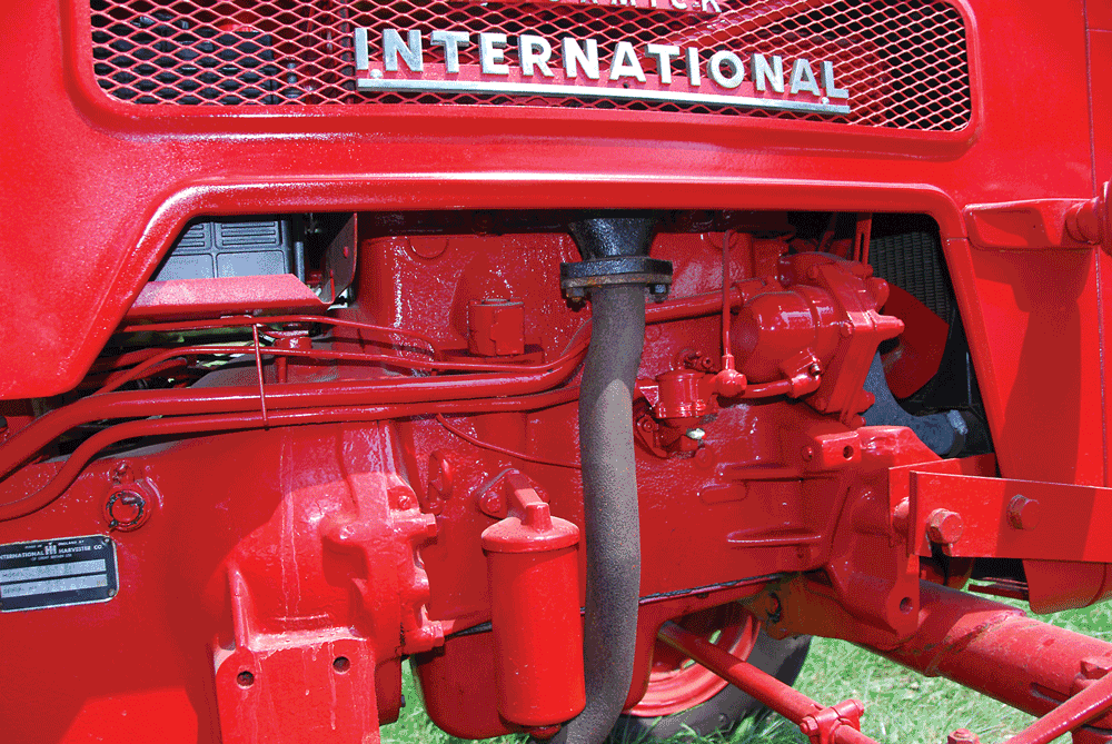 the bd-144 was a long-running engine that was built into the '70s  a larger  bore db-154 was also used on larger tractors  it had a robust five-main  block