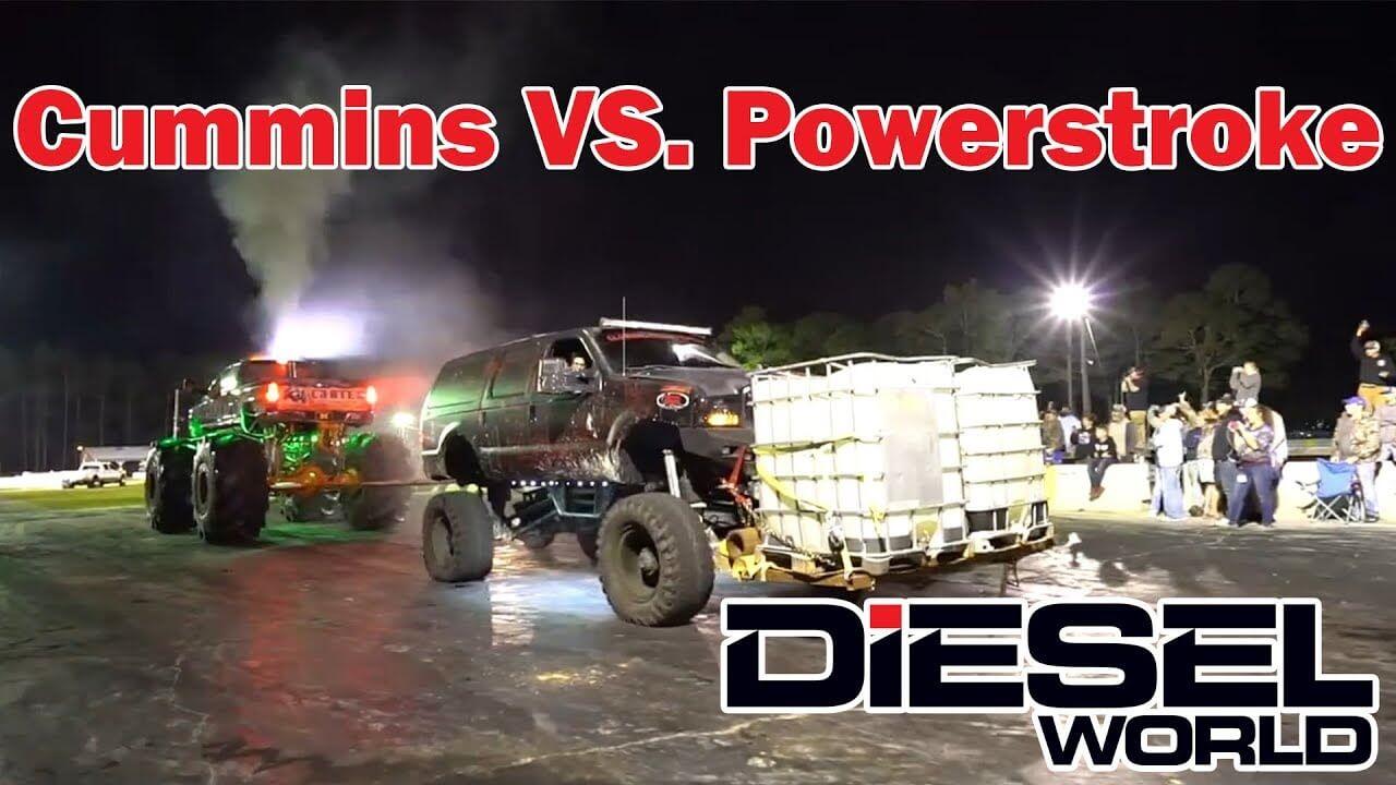 Cummins Vs Powerstroke >> Diesel Showdown Cummins Vs Powerstroke