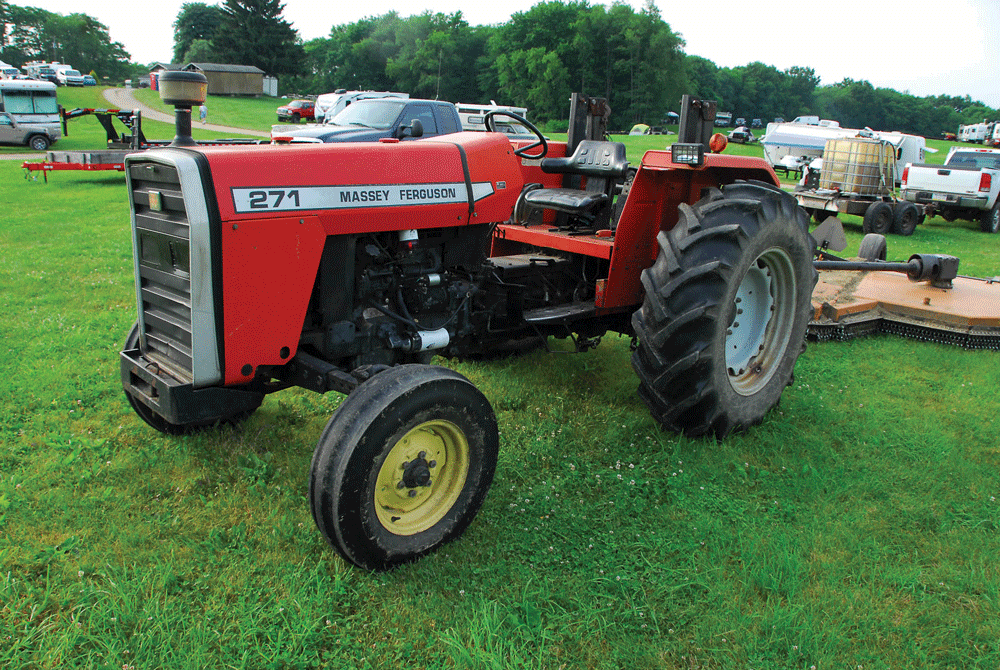 When Was Last Time You Thanked Tractor >> Tractor Talk 1999 Massey Ferguson 271