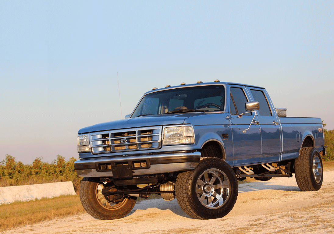 Classic Lines, Modern Appeal: A 350-HP OBS Ford