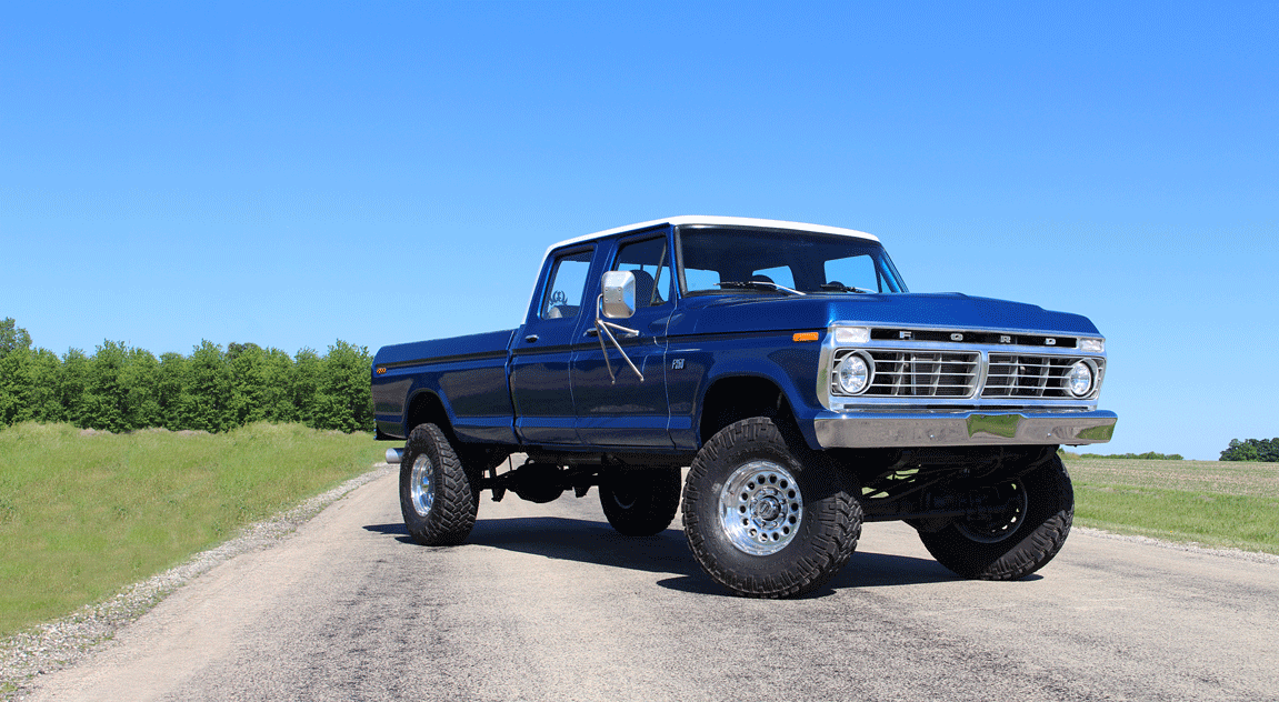 Homegrown Highboy The 7 3l Powered 73 F 250 Diesel World