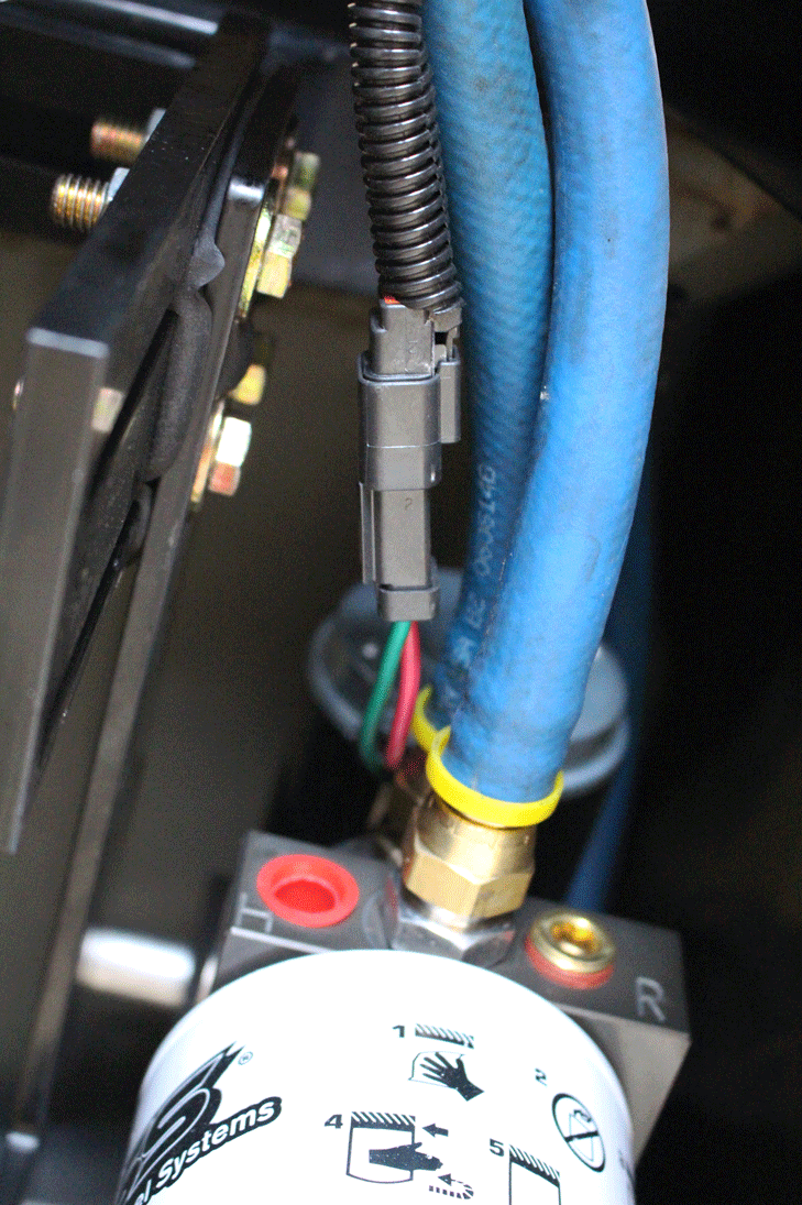 Proactive Upgrades Wiring Harness Anchors During The Routing Of Wire Bosie Took Care To Anchor It Existing And Fuel Lines Via Zip Ties After Plugging In At