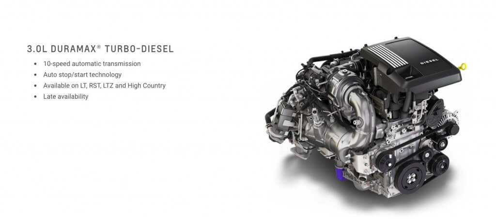 1st Glimpse of 2019 3.0L Duramax Diesel