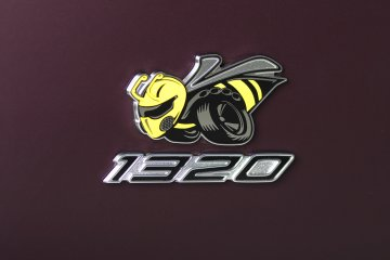 A new interpretation of the legendary Dodge Super Bee logo, the