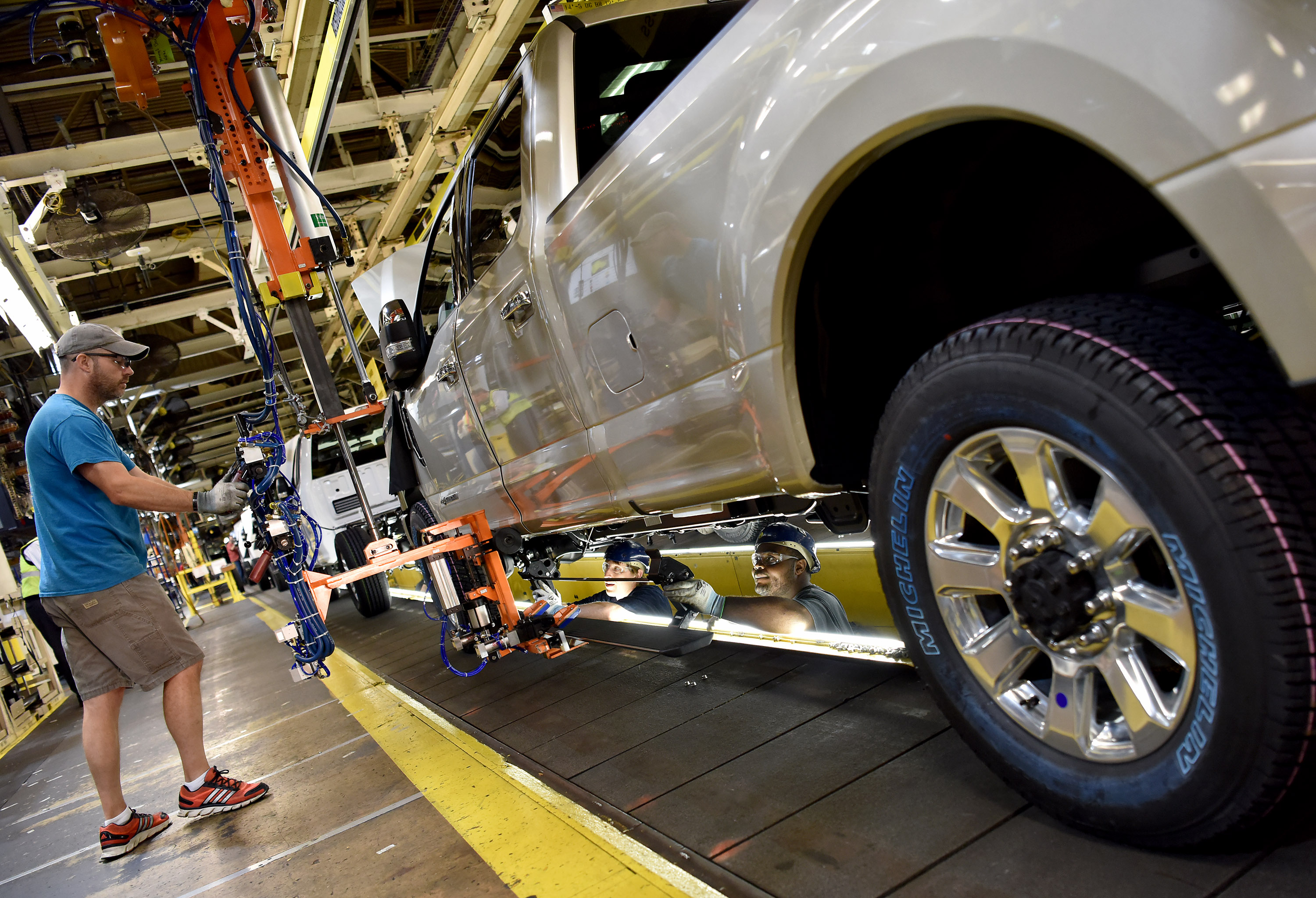 2017 Super Duty Production at Kentucky Truck Plant