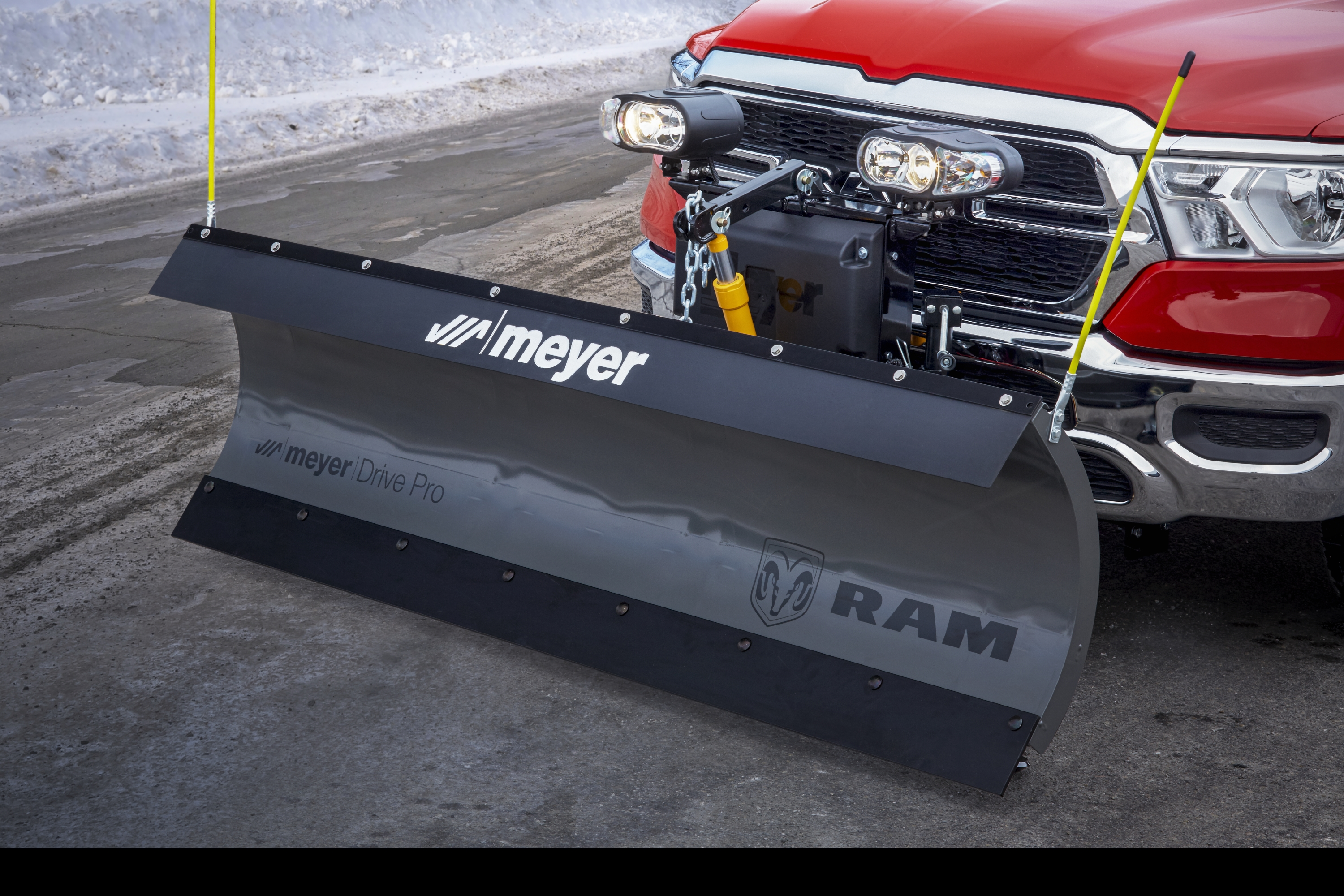 Ram Truck Introduces Snow Plow Prep Package at The Work Truck Sh