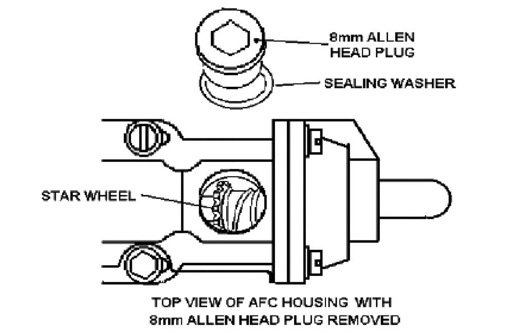 Cummins P7100 air fuel control (AFC) assembly