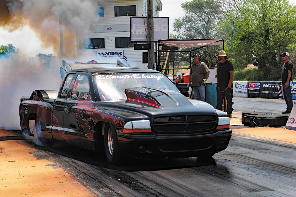 Steve Royalty's Climate Change Triple Turbo Drag Truck