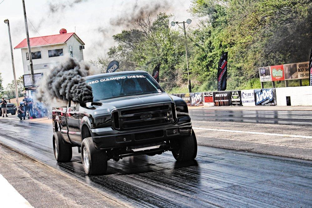 Ford 6.0L Power Stroke Drag Truck