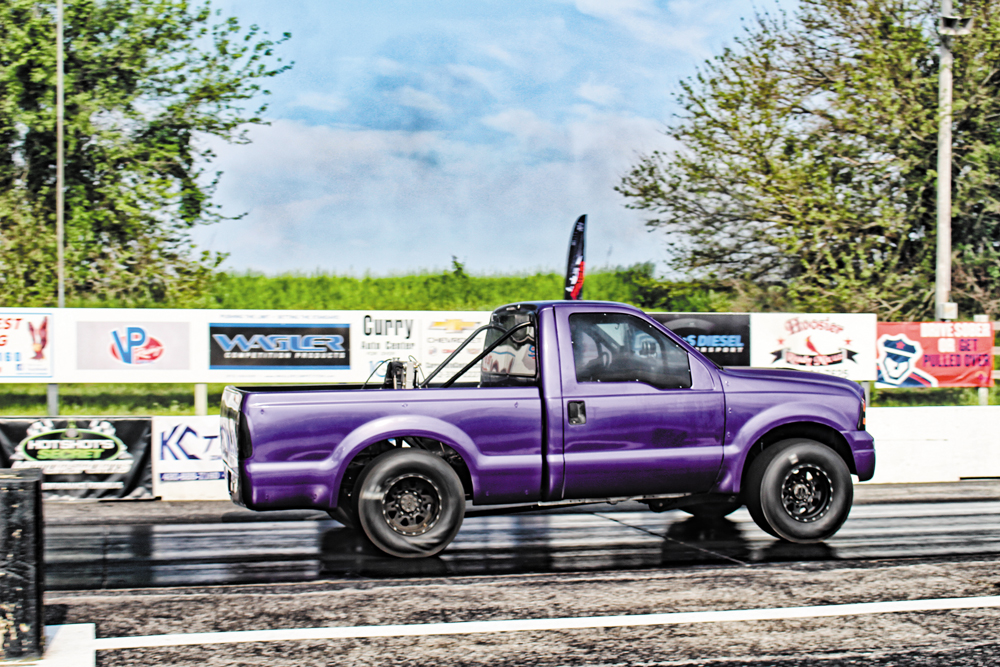 2005 6.0L Ford Drag Race Truck, Charlie Fish, KC Turbo